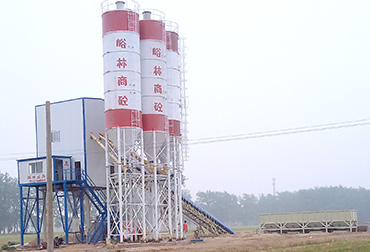 Zhoukou 90 concrete mixing station